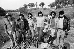 Fieldworkers in Camp #2, 1979