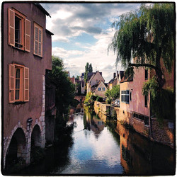 Canal Chartres,  Chartres, France, 2014