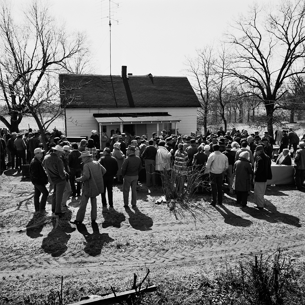 Farm Sale, 1973