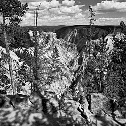 Grand Canyon of the Yellowstone, Wyoming, 1998