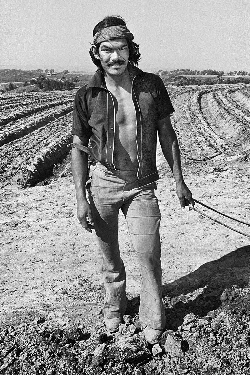 Fieldworker with Bandana, 1979