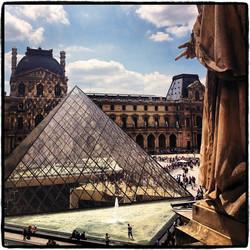 The Louvre, Paris, 2014