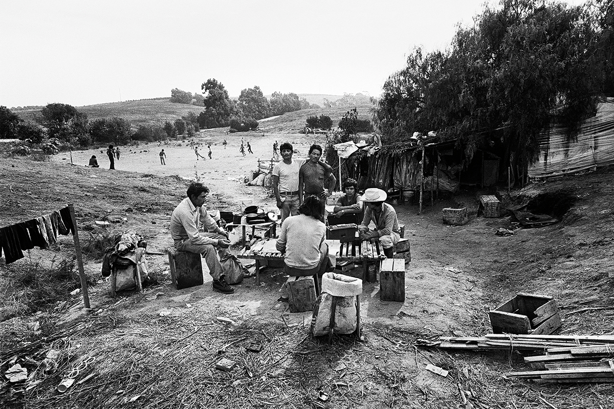 Fieldworkers in Camp #1, 1979