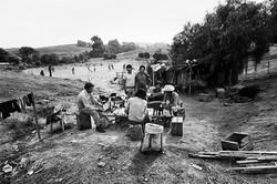 Fieldworkers in Camp #1, 1979