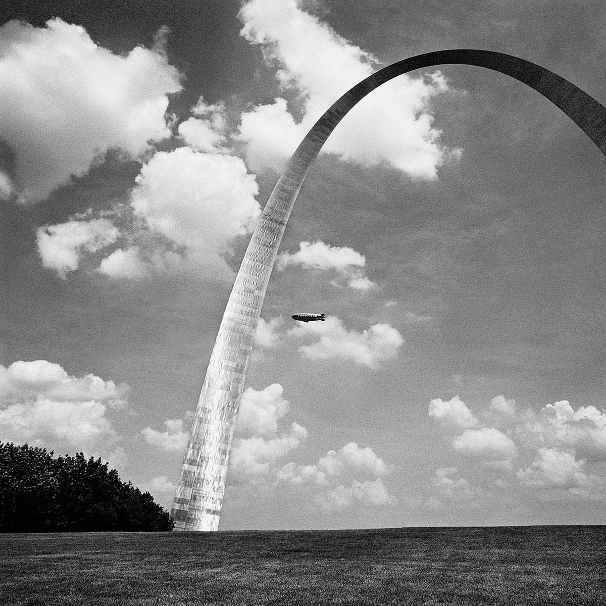 St Louis Arch, Missouri, 1999