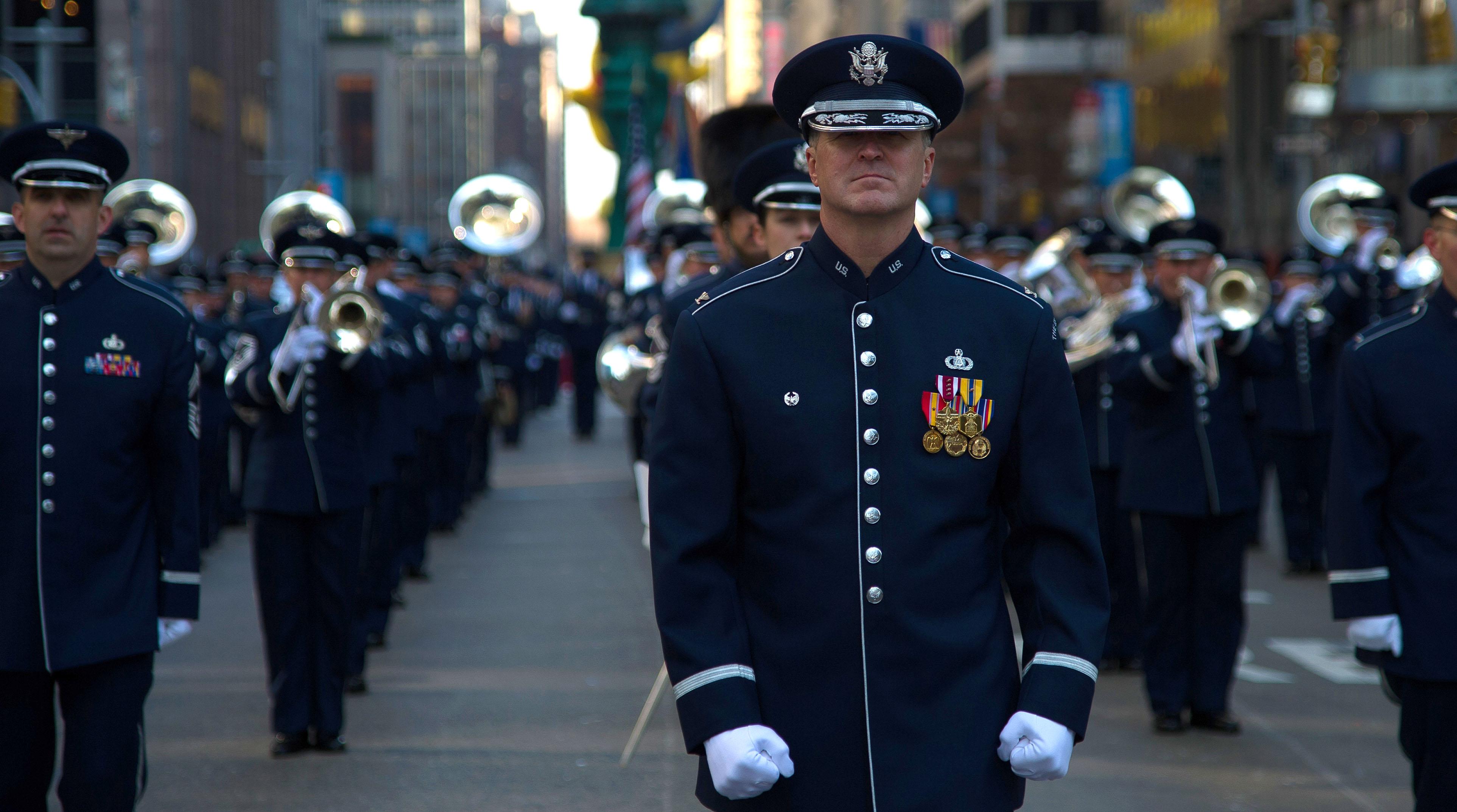 The USAF Band Macy's Parade