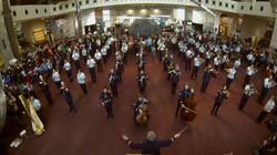 The USAF Band Flash Mob