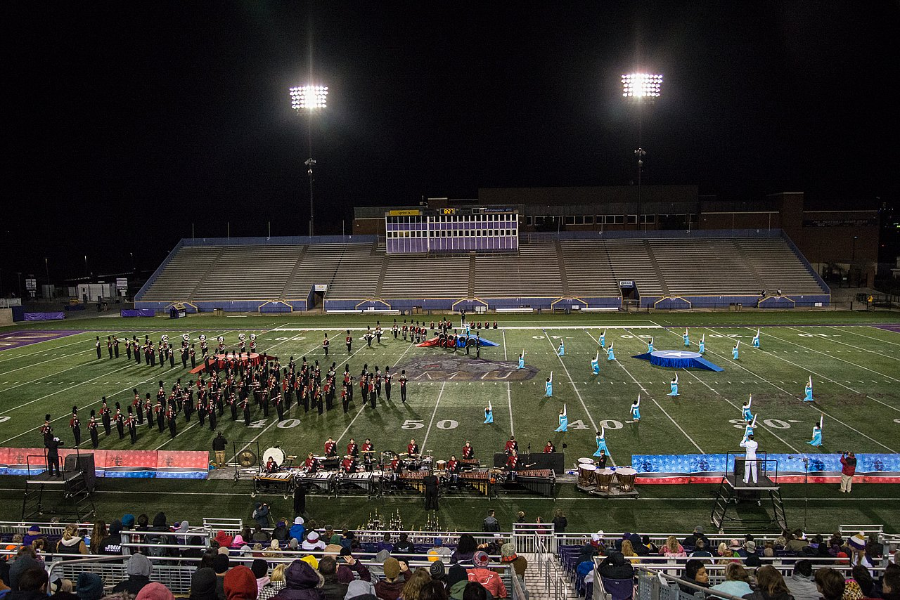 James Madison HS Marching Band