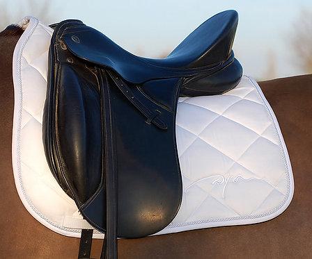 Dy'on Dressage White Saddle Pad