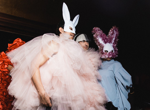 If Tinsel and Tulle Made a Love Child - Alessandro Trincone NYFW FW 20/21