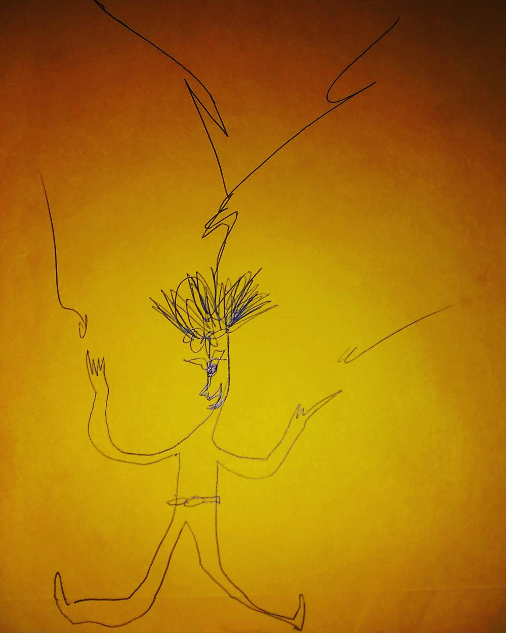 Illustration: Dramaturg as lightning rod