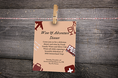 Custom Invitations by the Arc Creative. Fully customized event invitations in Reno, Nevada.