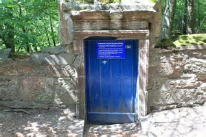 The Blue Door & Rocks of Solitude
