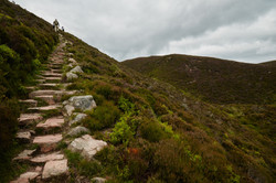 The Climb to Clachnaben