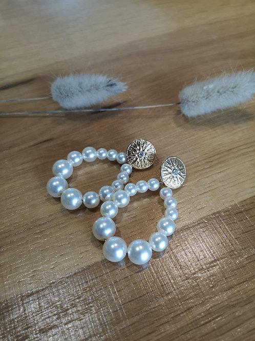 Boucles d'oreilles Pearl