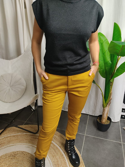 Pantalon Moutarde