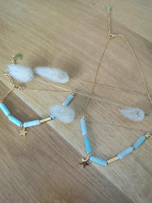 Bracelet Etoile Turquoise