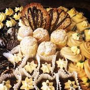 Tray of baking