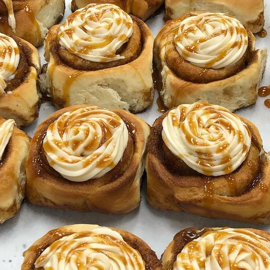 Delicious homemade cinnamon buns