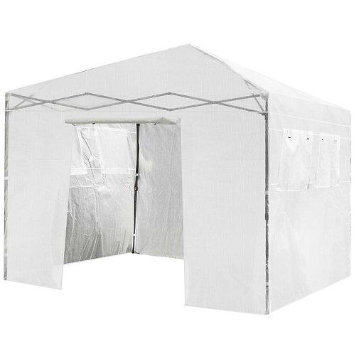 10'x10' Portable Pop-Up Folding Walk-In Greenhouse  W/Window GT3562WH