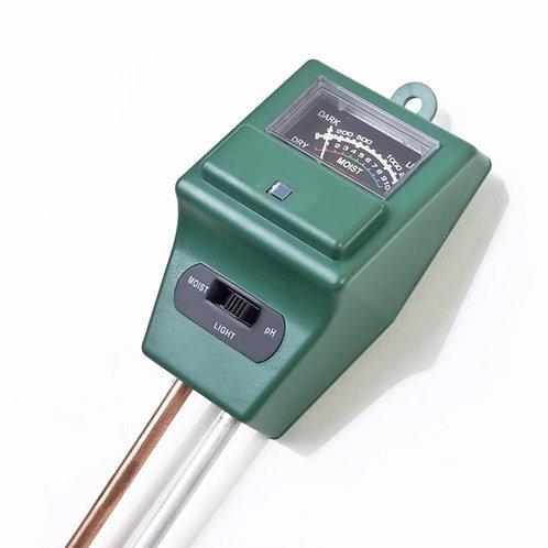 3 In1 Soil PH Tester Moisture Light Intensity Meter Instrument Tool
