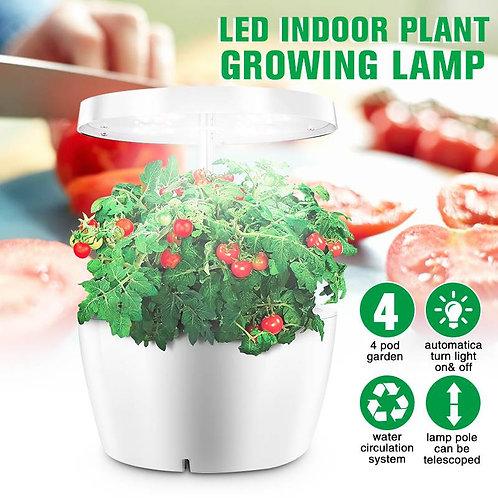 Ecoo Grower Indoor Home Garden Nursery Pots Hydroponics System With Grow Light