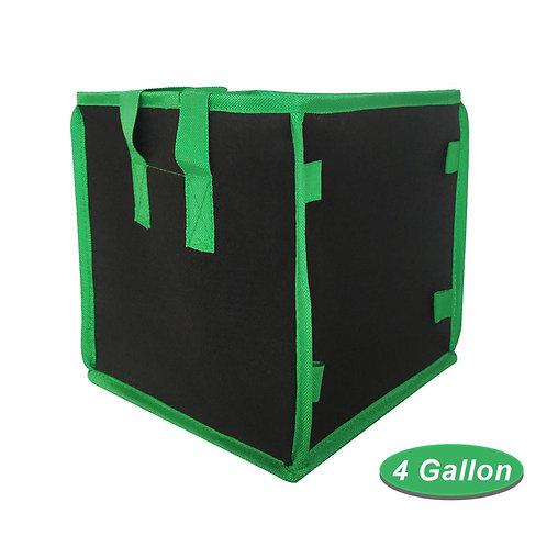 4/5/7/10 Gallon Portable Large Vegetable Grow Bags Anti-Corrosion Felt Planters