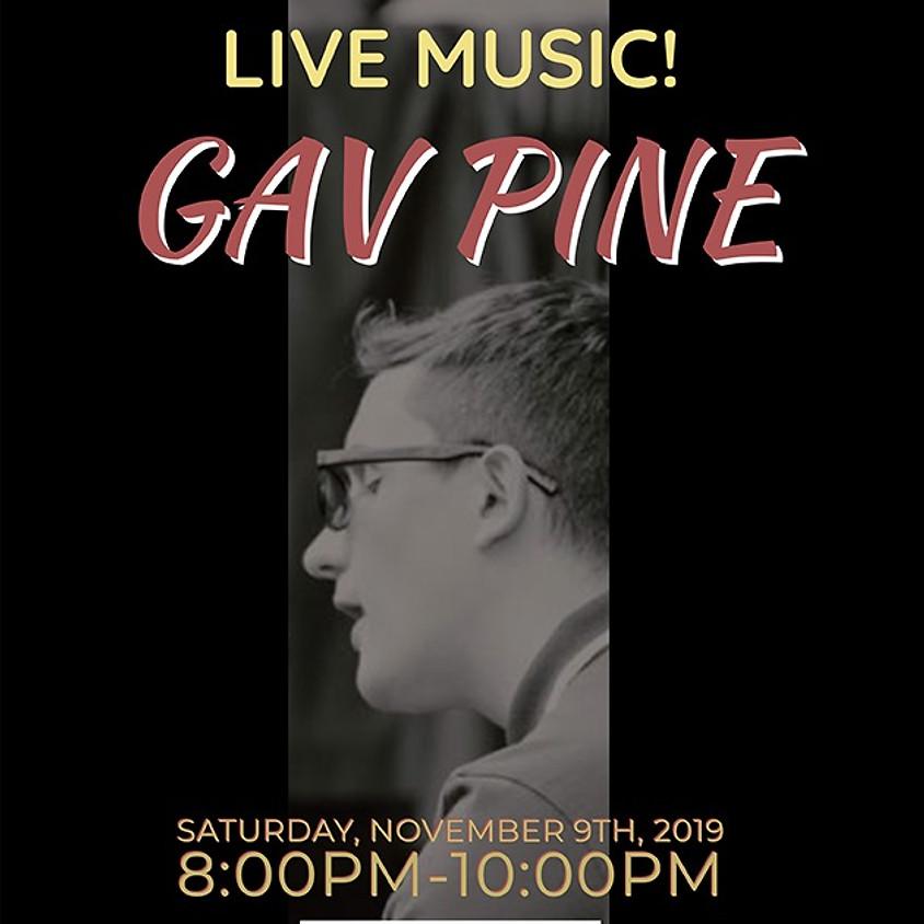 Live Music with Gav Pine
