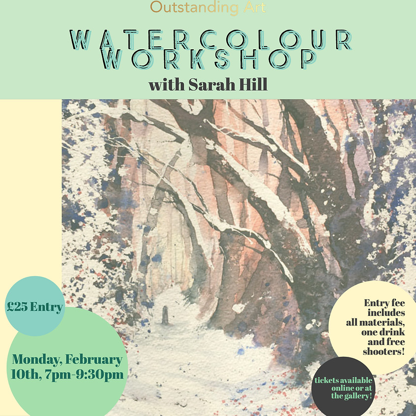 Ink 'n' Drink: Watercolour Workshop with Sarah Hill