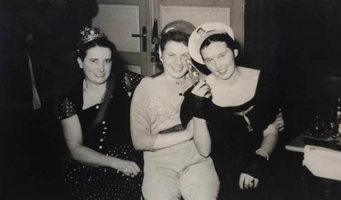 Fasching um 1950