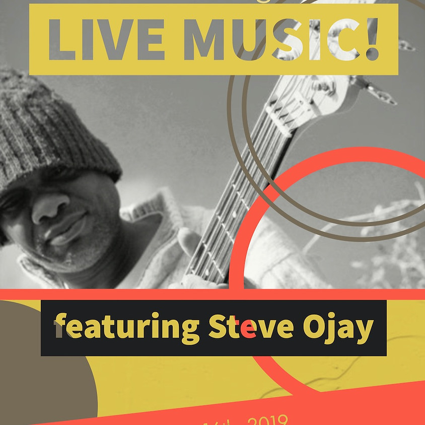 Live Music featuring Steve Ojay