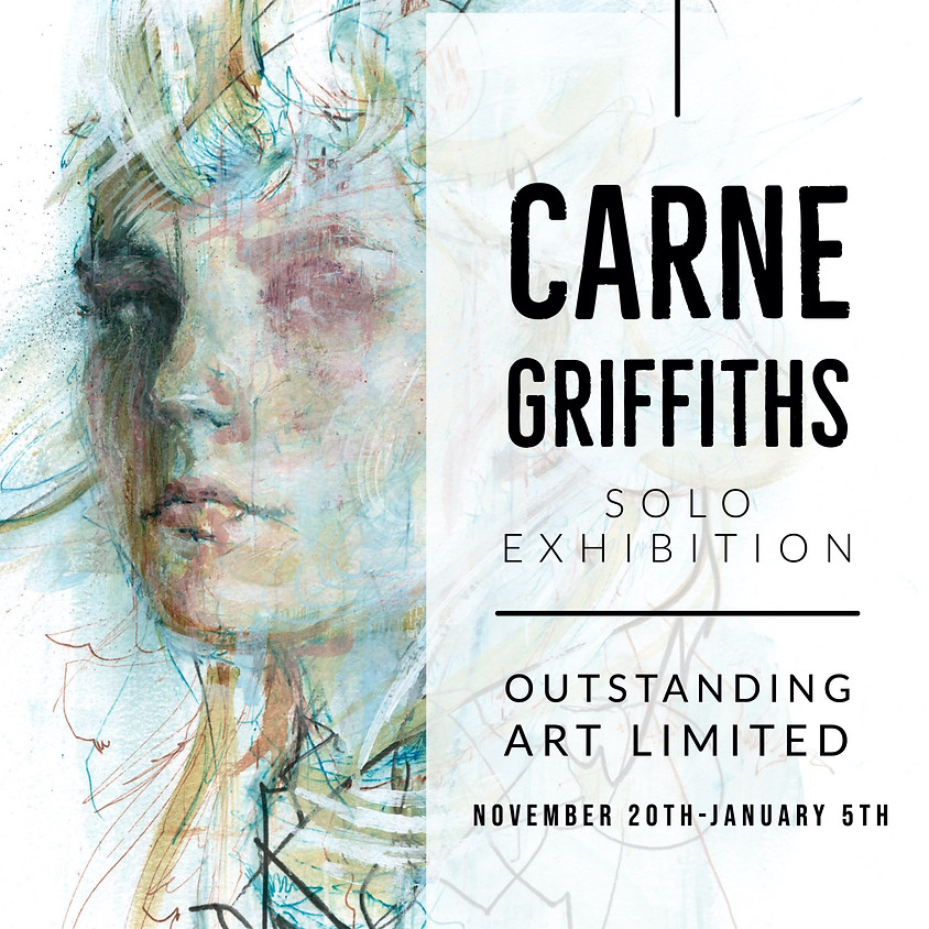 Carne Griffiths-Solo Exhibition