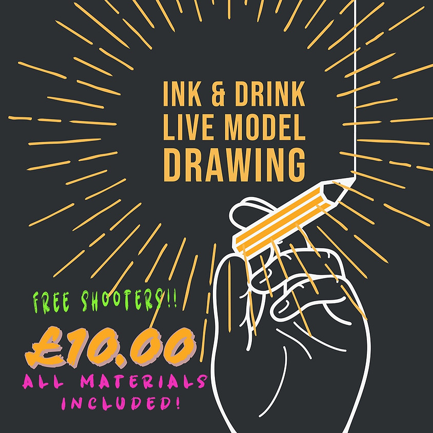 Ink 'n' Drink: Live Model Drawing with Carole Kell