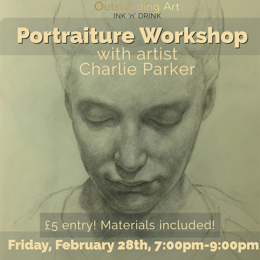 Ink 'n' Drink Portraiture Workshop with Charlie Parker