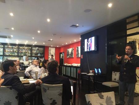 Café da manhã com Dr. Evaristo Eduardo de Miranda