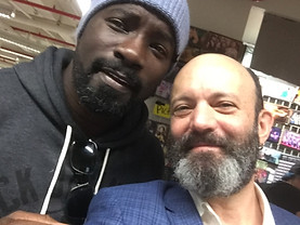 Me and Mike Colter