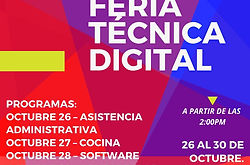 Feria técnica digital