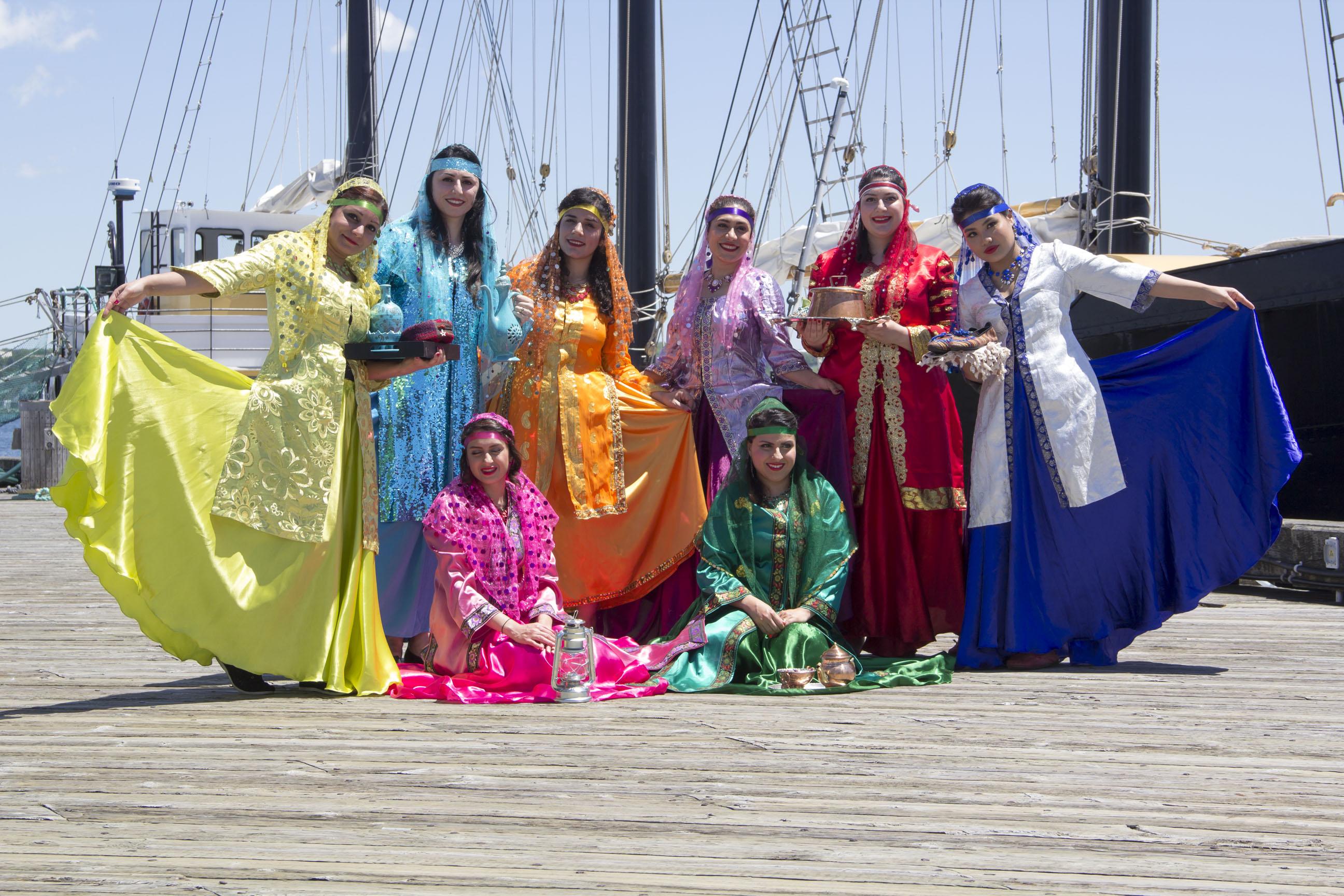 Standing_ Shekoufeh, Farzaneh, Neda,Setareh, Pegah, Tanisha. Sitting_ Setareh, Sara