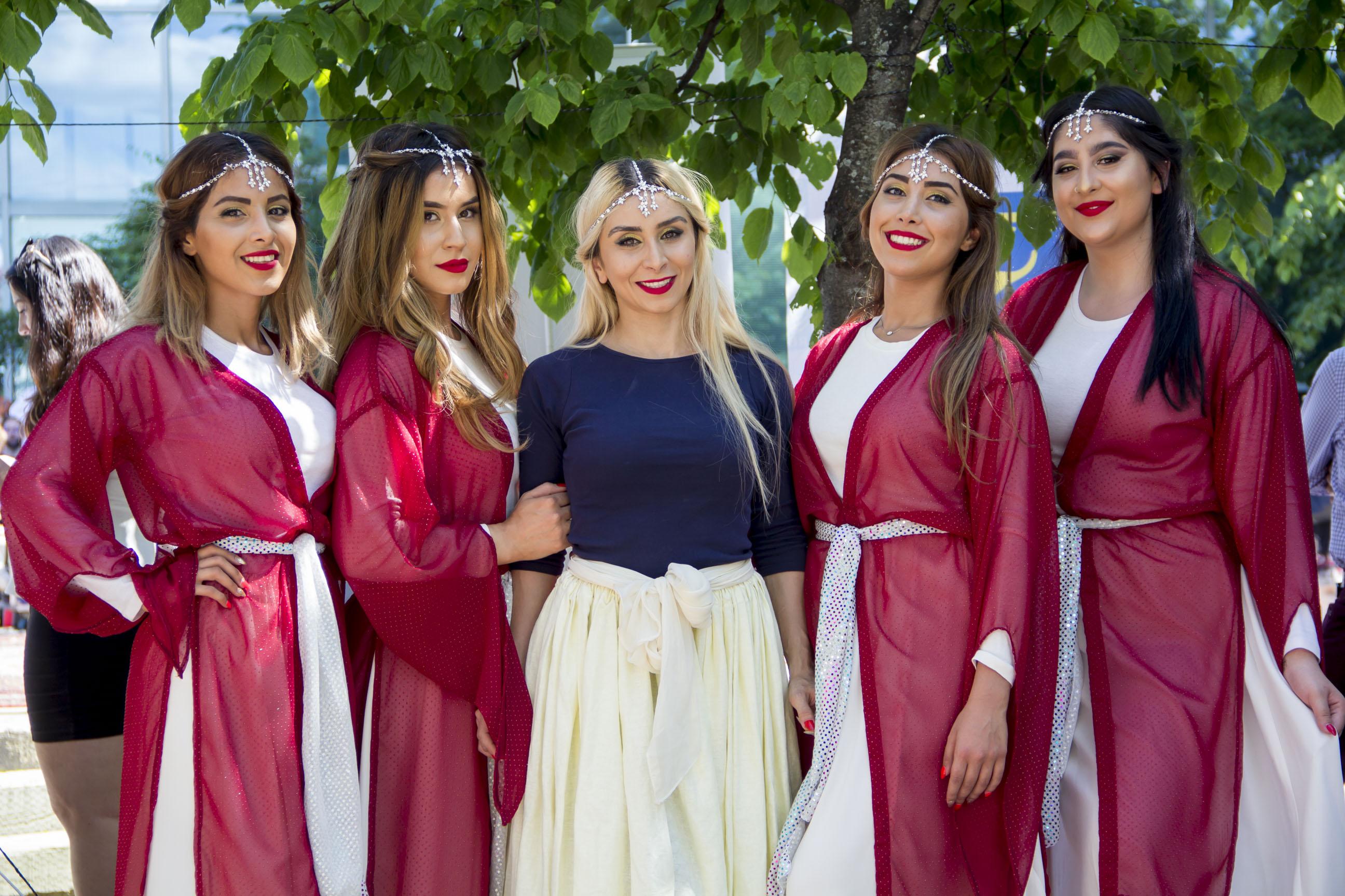 Atousa, Ghazal, Maral, Anahita, Rojina