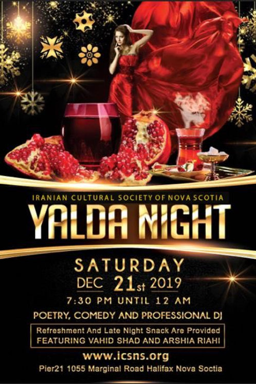 Yalda Night Ticket 2019