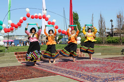 Qasemabadi Dance by Rojina, Roza, Maral, Minoo