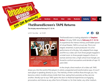 Broadway World Feb TAPE Announcement.png
