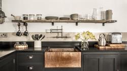 Bespoke Kitchen with Copper Sink