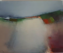 Druminderry by Josephine Kelly, Oil on b
