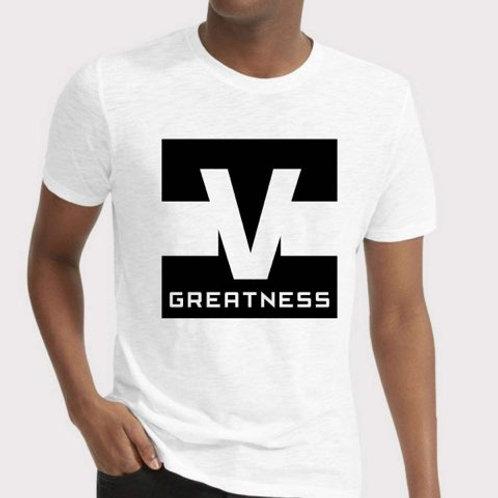 Shoot 4 Greatness White Unisex T-shirt Style 17