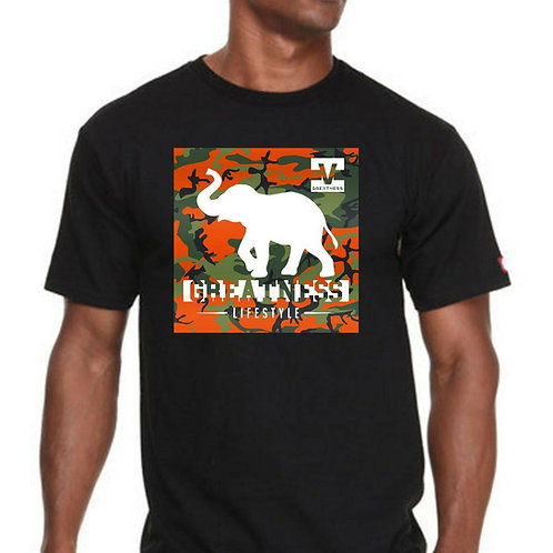 Black Unisex T-shirt Style 23