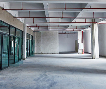 Commercial Office Interior Construction.