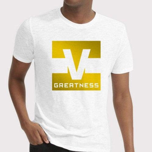 Shoot 4 Greatness White Unisex T-shirt Style 11
