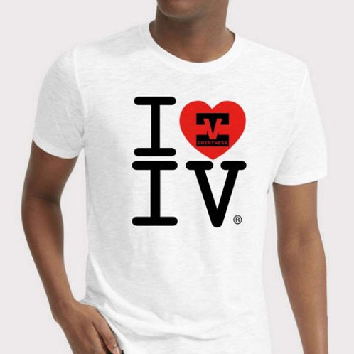 I Love Greatness Unisex T-shirt Style 04