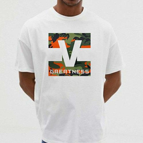 White Unisex T-shirt Style 25